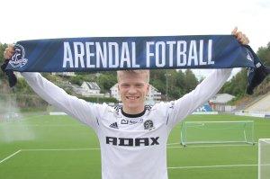 Tobias Arndal er klar for Arendal Fotball.