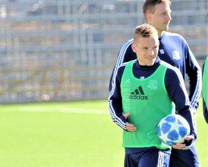 Jakob Rasmussen er klar for sin sjette sesong i Arendal Fotball og er spilleren med lengst erfaring fra klubben.