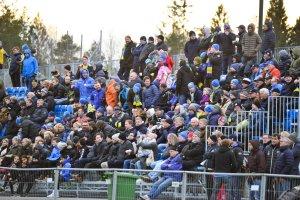 Det var rundt 700 tilskuere som var tilstede på treningskampen mot Jerv før seriestart. Når Jerv kommer til Myra 6. mai, så er det ventet fulle tribuner.