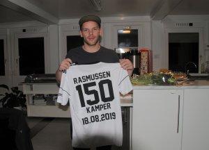 Jakob Rasmussen ble den andre spilleren i Arendal Fotball til å nå 150 kamper. Nå står han alene med rekorden i antall kamper i klubben.