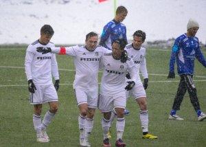 Ylldren Ibrahimaj, Wilhem Pepa, Tasso Dwe og Tobias Henanger var definitivt blant dem som leverte varene i årets første treningskamp.