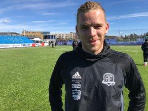 Jakob Rasmussen er veldig motivert for tre poeng hjemme mot Florø søndag.