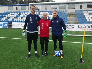 Grzegorz Flasza, Erik Ruthford Pedersen og Mikkel Hasling.