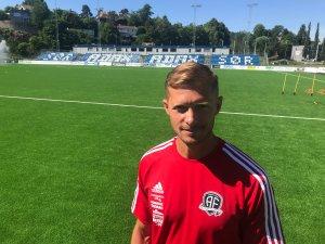 Mattias Andersson på Norac stadion.