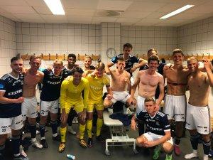 Arendal-jubel etter 4-0 mot RBK 2.