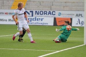 Fabian Stensrud Ness ble tomålsscorer mot Sola.