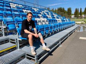 Jonatan Strand Byttingsvik mister dessverre hele 2021-sesongen, etter at han har fått konstatert avrevet korsbånd i kneet.