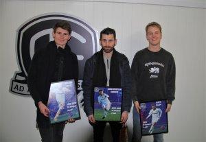 Preben Skeie, Jens Kristian Skogmo og Jeppe Illum ble takket av på årsavslutningen på Norac stadion 3. desember. Også Rasmus Lynge Christensen ble takket av, men han var ikke til stede.