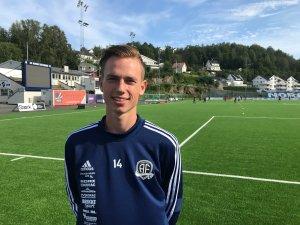 Kristian Eriksen er klar for Arendal Fotball.