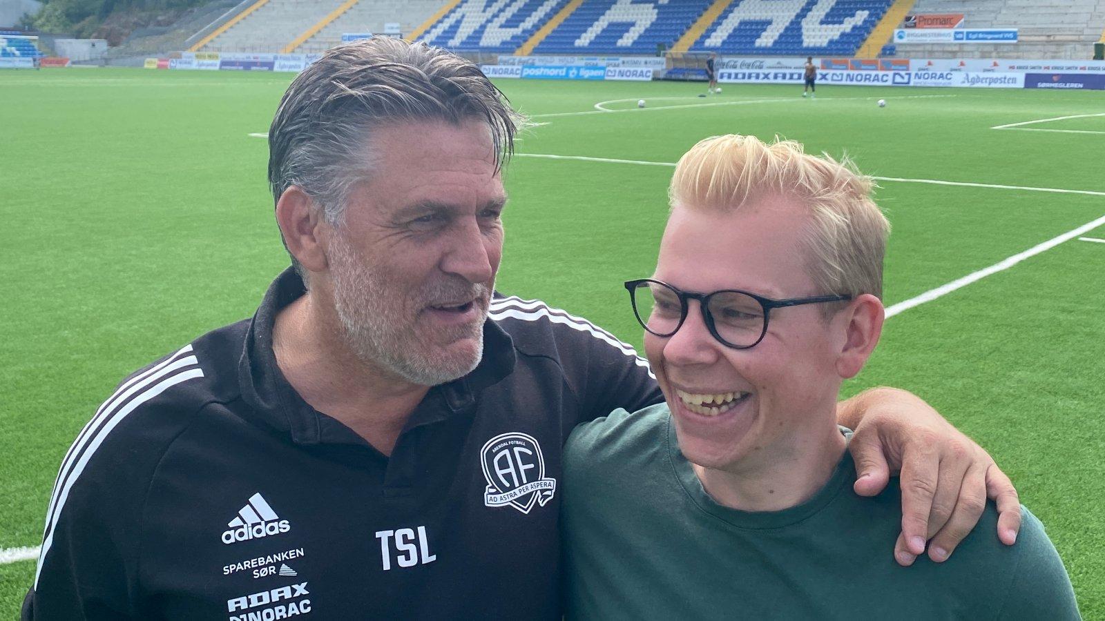 Tommy Svindal Larsen og Karl-Gunnar Ellefsen.