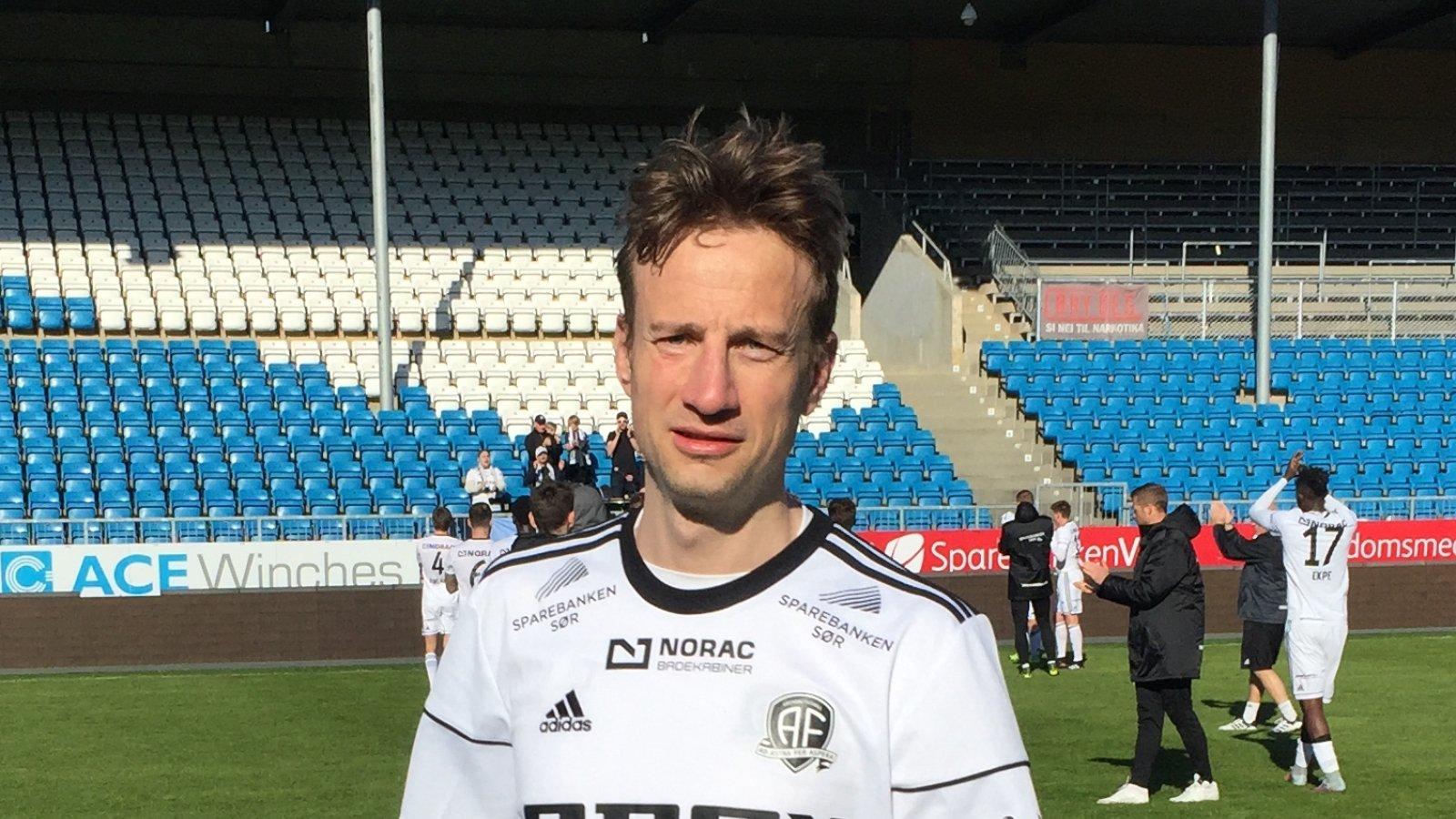Petar Rnkovic etter 4-1 mot Vard i Haugesund