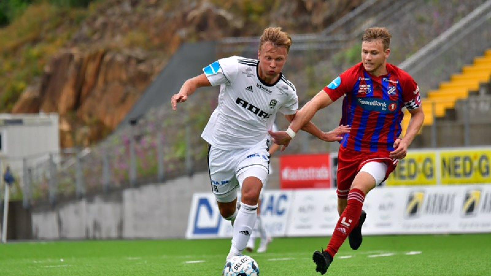 Markus Håbestad viste friske takter da han kom inn det siste kvarteret.