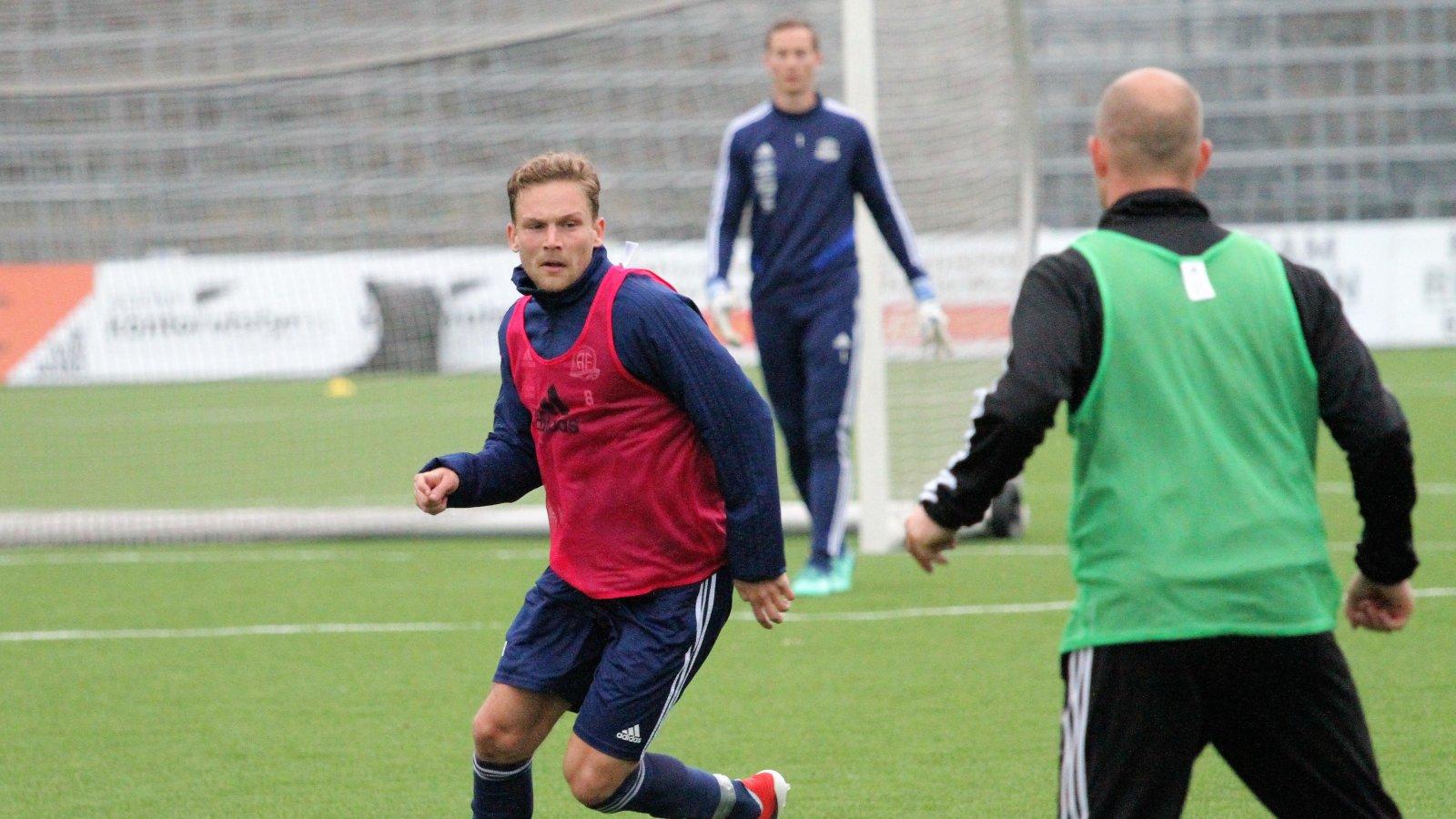 Rasmus Lynge Christensen har en ny rolle i årets Arendal-lag.