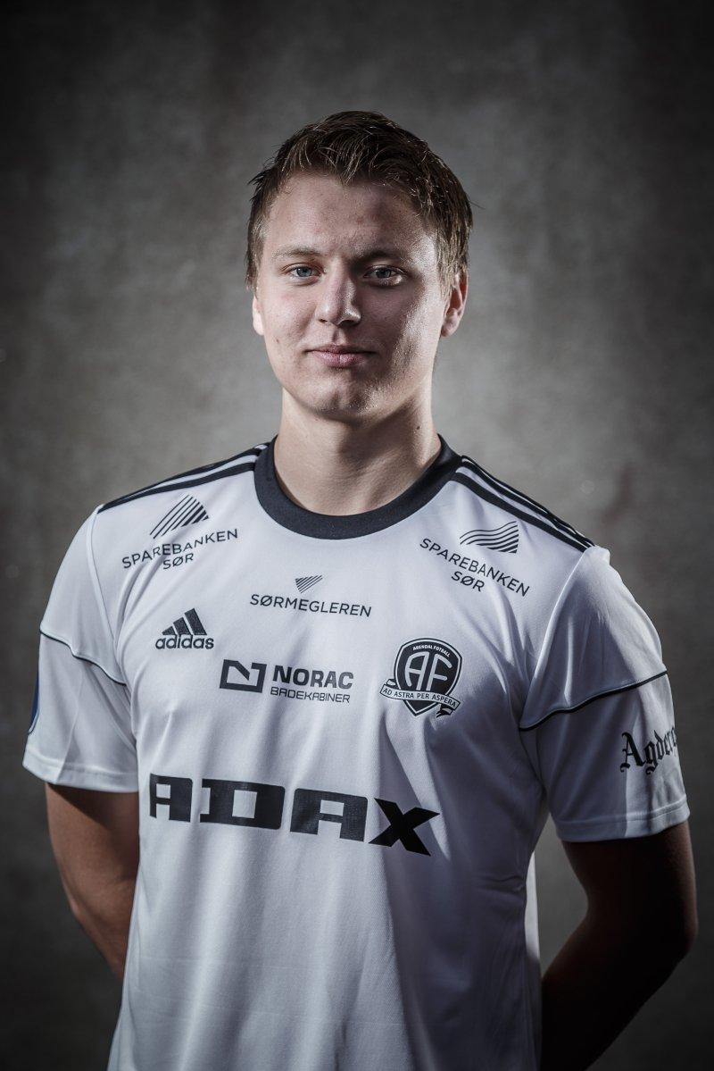 Ole Marius Håbestad spiller nå i Jerv og er fetter til Markus Håbestad. Her er Ole Marius foran 2017-sesongen.