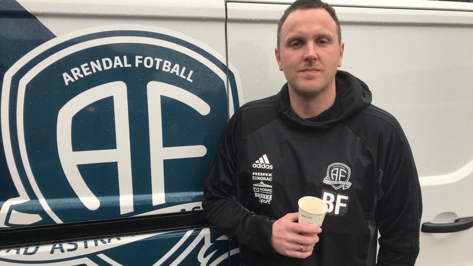 Bjørge Fedje er tilbake i Arendal Fotball som keepertrener.