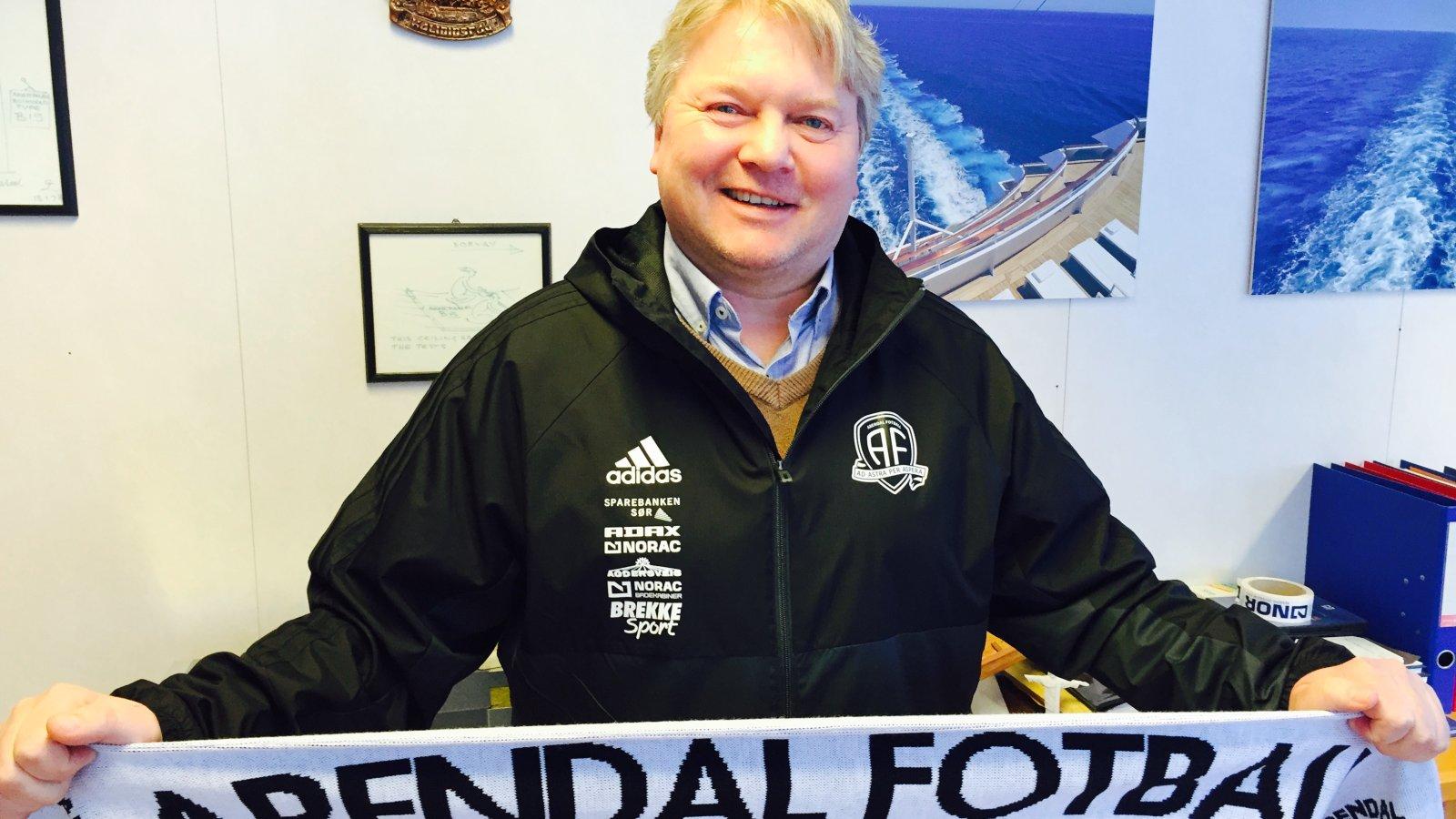 Rune Aarrestad og Norac er en langsiktig samarbeidspartner for Arendal Fotball. Nå har de forlenget avtalen som generalpartner for klubben, i tillegg til at selskapet har kjøpt rettighetene til stadionnavnet de neste 12 årene.