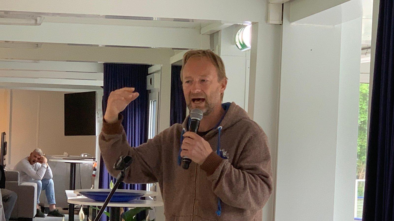 Kjetil André Aamodt holdt foredrag på Norac.
