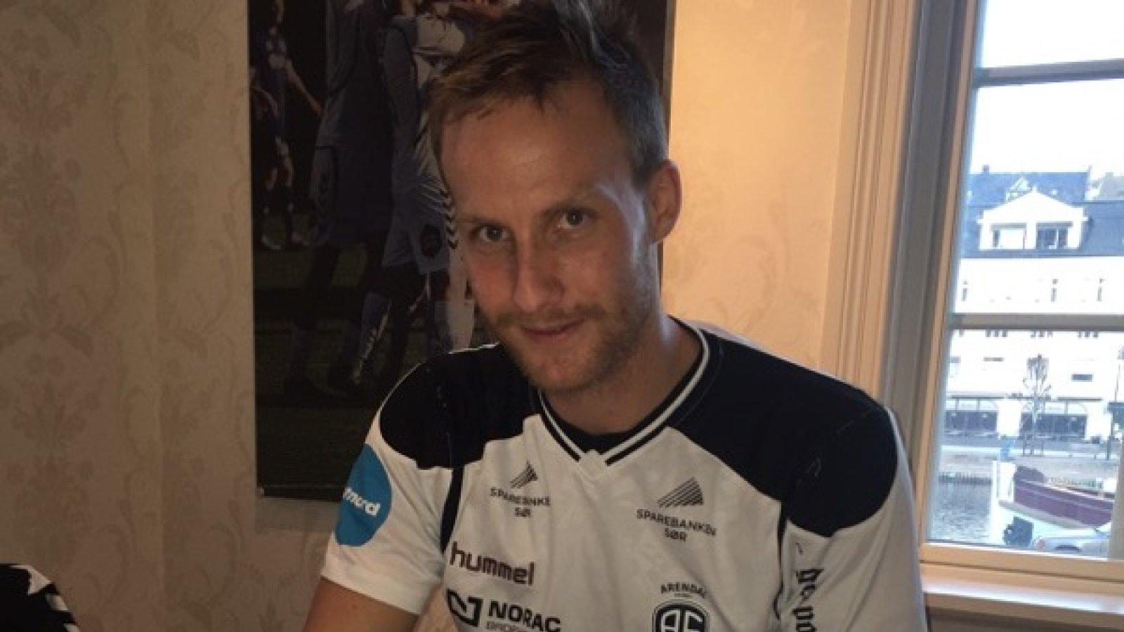 Sune Kiilerich har satt navnet sitt på en ettårskontrakt med Arendal Fotball.
