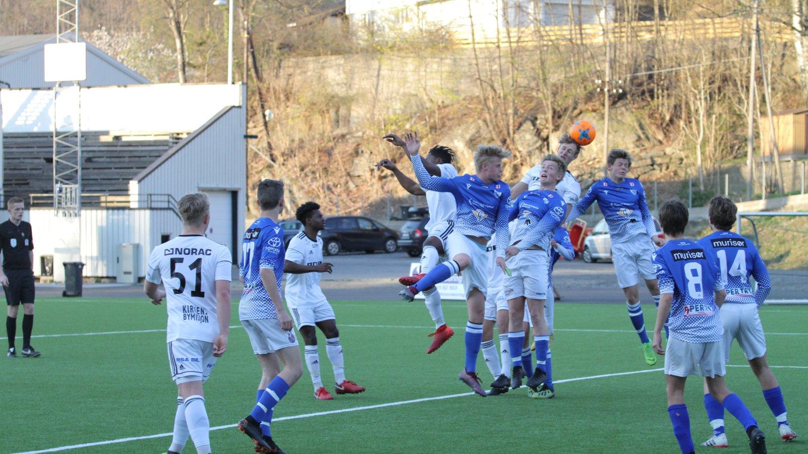 Arendal junior mot Søgne, våren 2019.