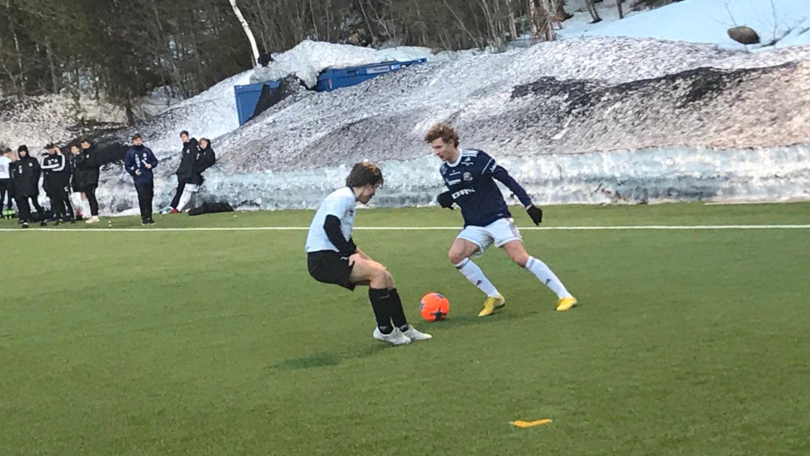 Historisk da Arendal G19 møtte Grane G19 til cup-kvalifisering.