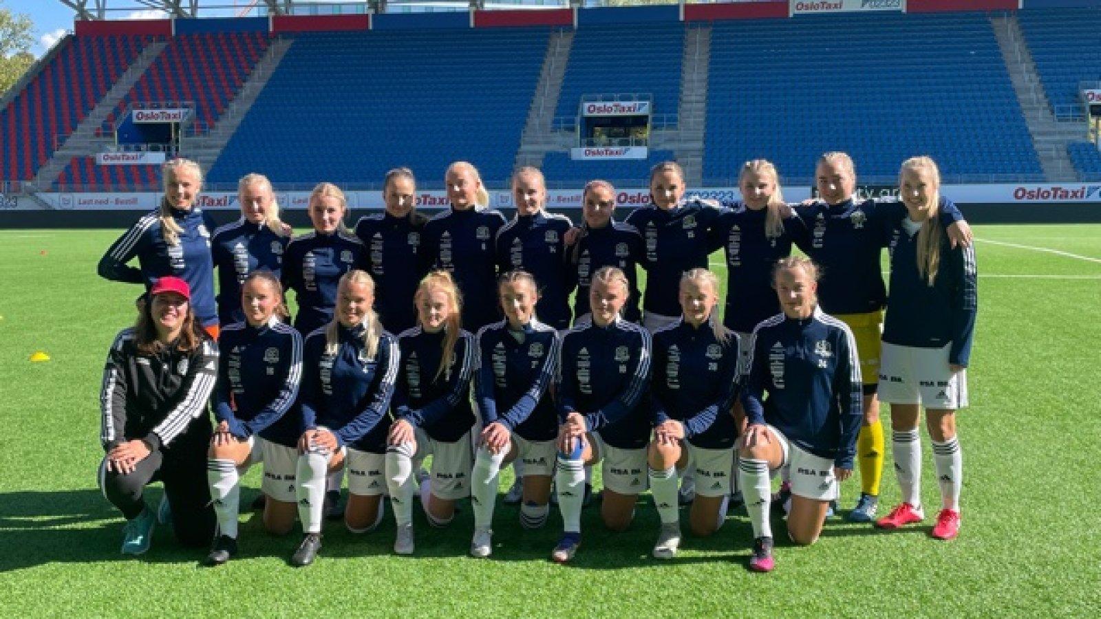 Arendal/Sørfjell-troppen på Intility Arena.