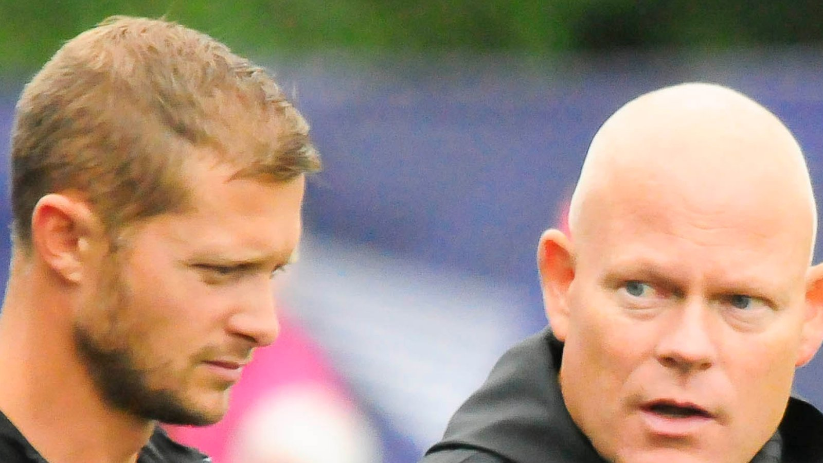 Mattias Andersson og Frank Bredal.