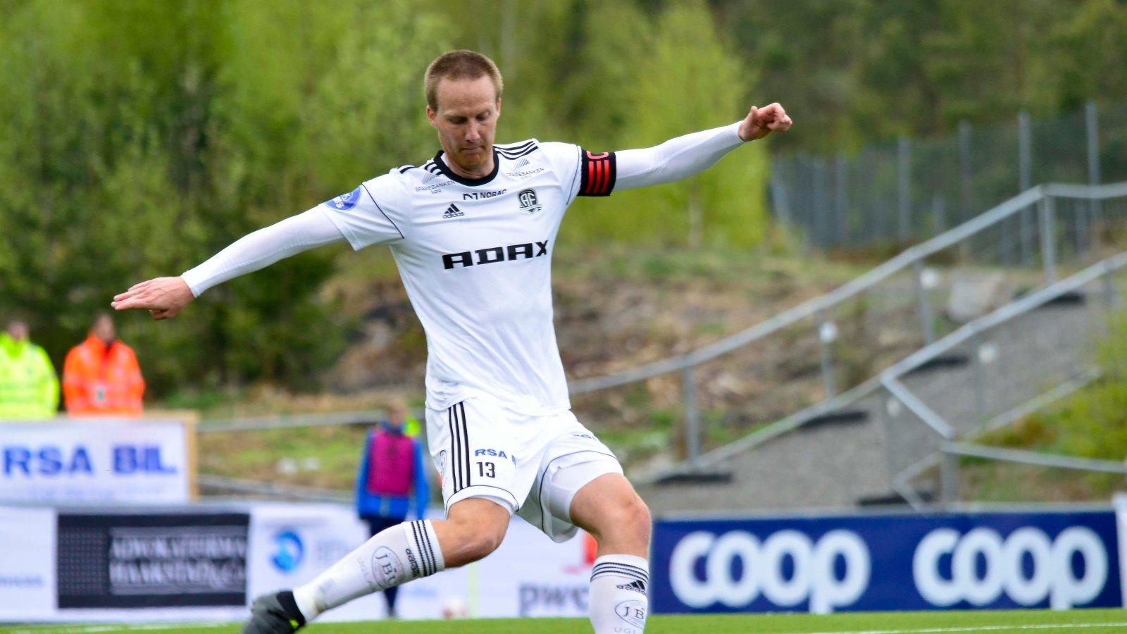 Sune Kiilerich pådro seg sesongens tredje gule kort mot Levanger og må stå over 16. mai-kampen mot Kongsvinger.