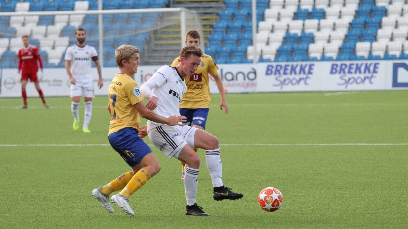 Kristian Eriksen for Arendal 2 mot Jerv 2