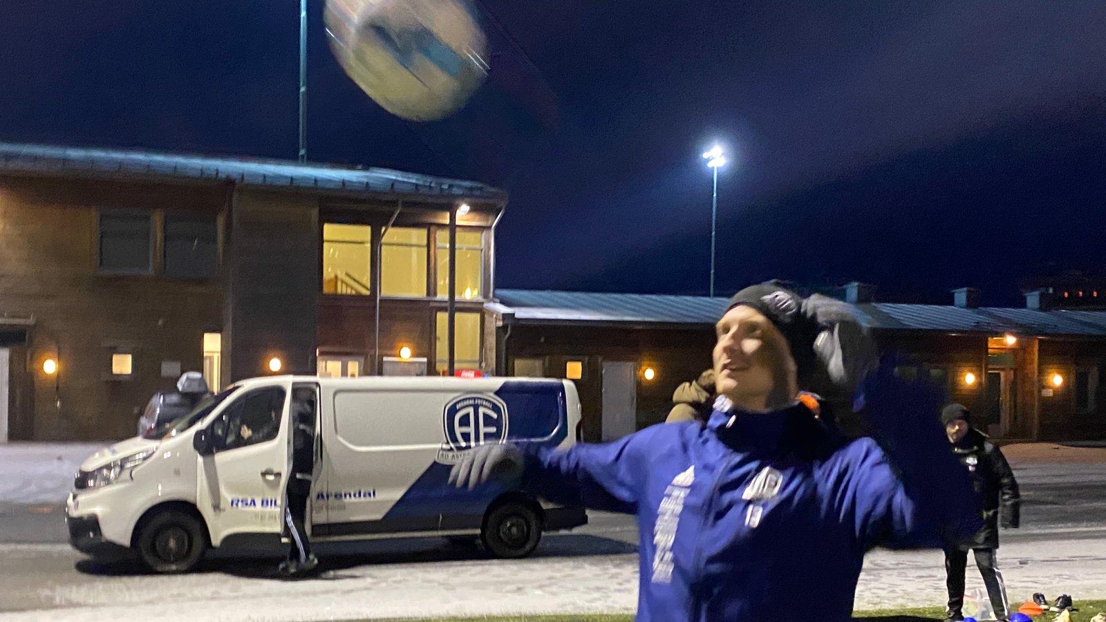 Sune Kiilerich og resten av A-stallen hadde sin første trening for 2021-sesongen mandag 11. januar.