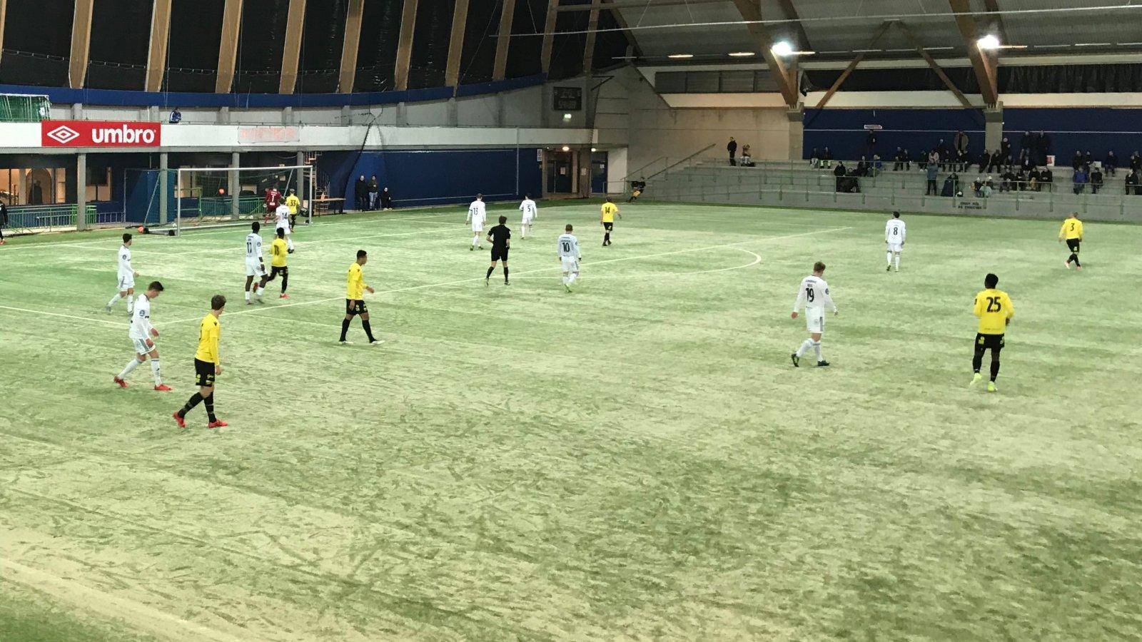 Treningskamp Start-Arendal i Sørlandshallen 16. februar 2018.