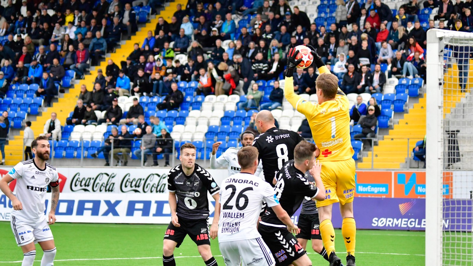 Bare en ekstremt god Sondre Rossbach i Odd-målet hindret cup-bombe på Norac stadion onsdag.
