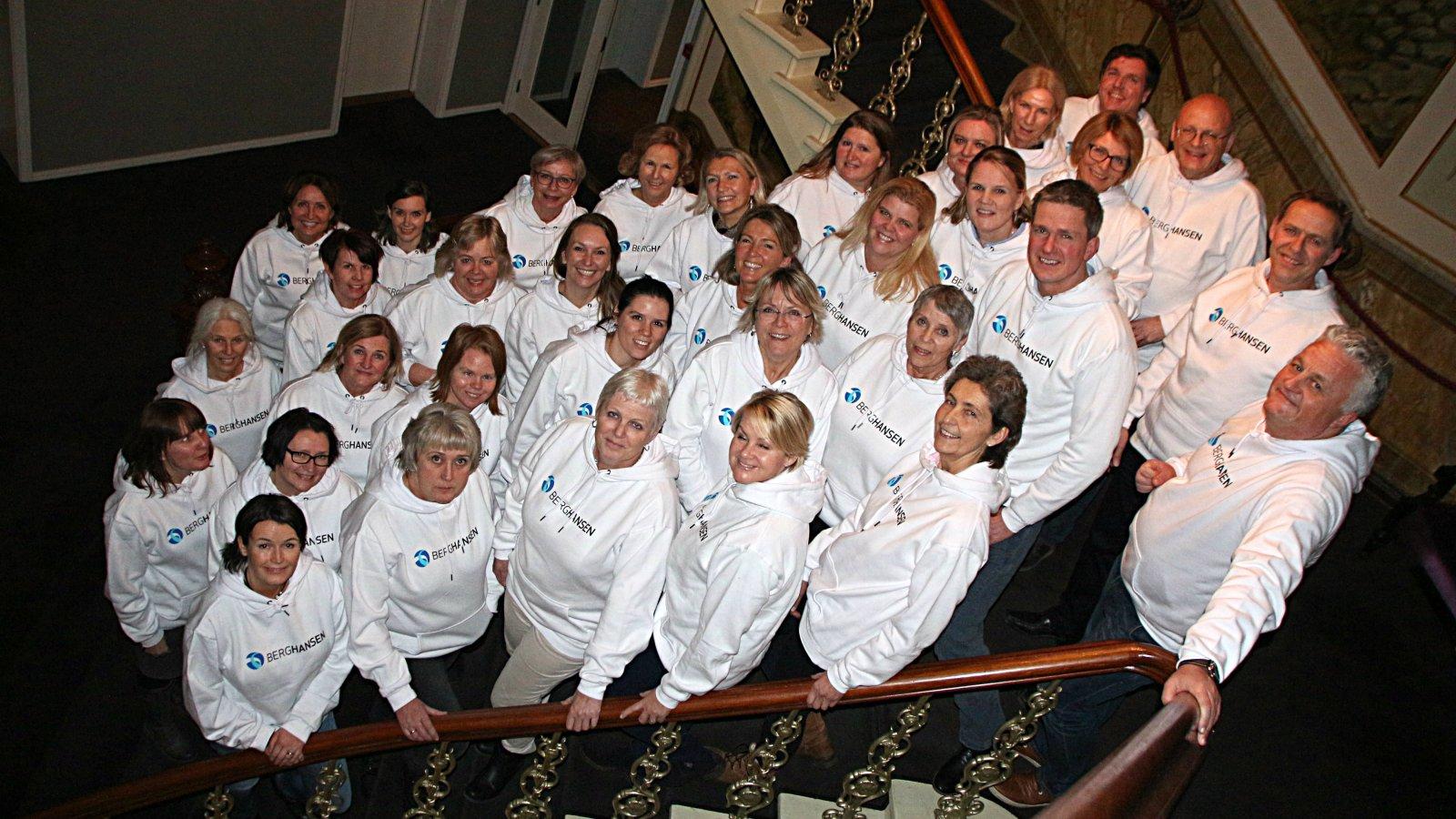 Berg-Hansens profesjonelle team av reiserådgivere.