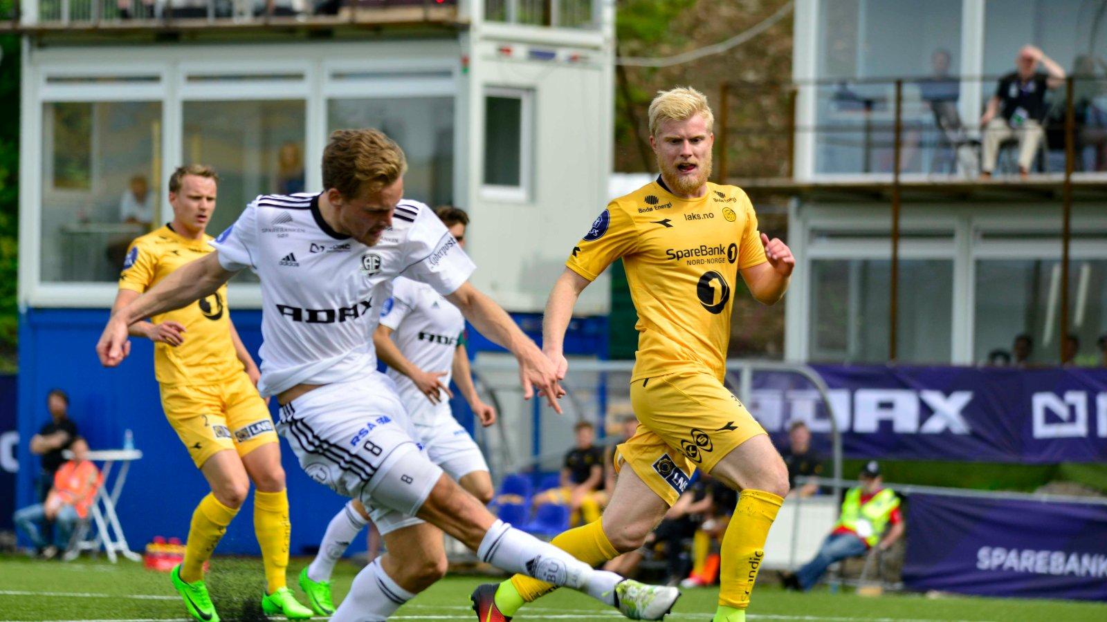 Rasmus Lynge Christensen var endelig tilbake i startoppstillingen!