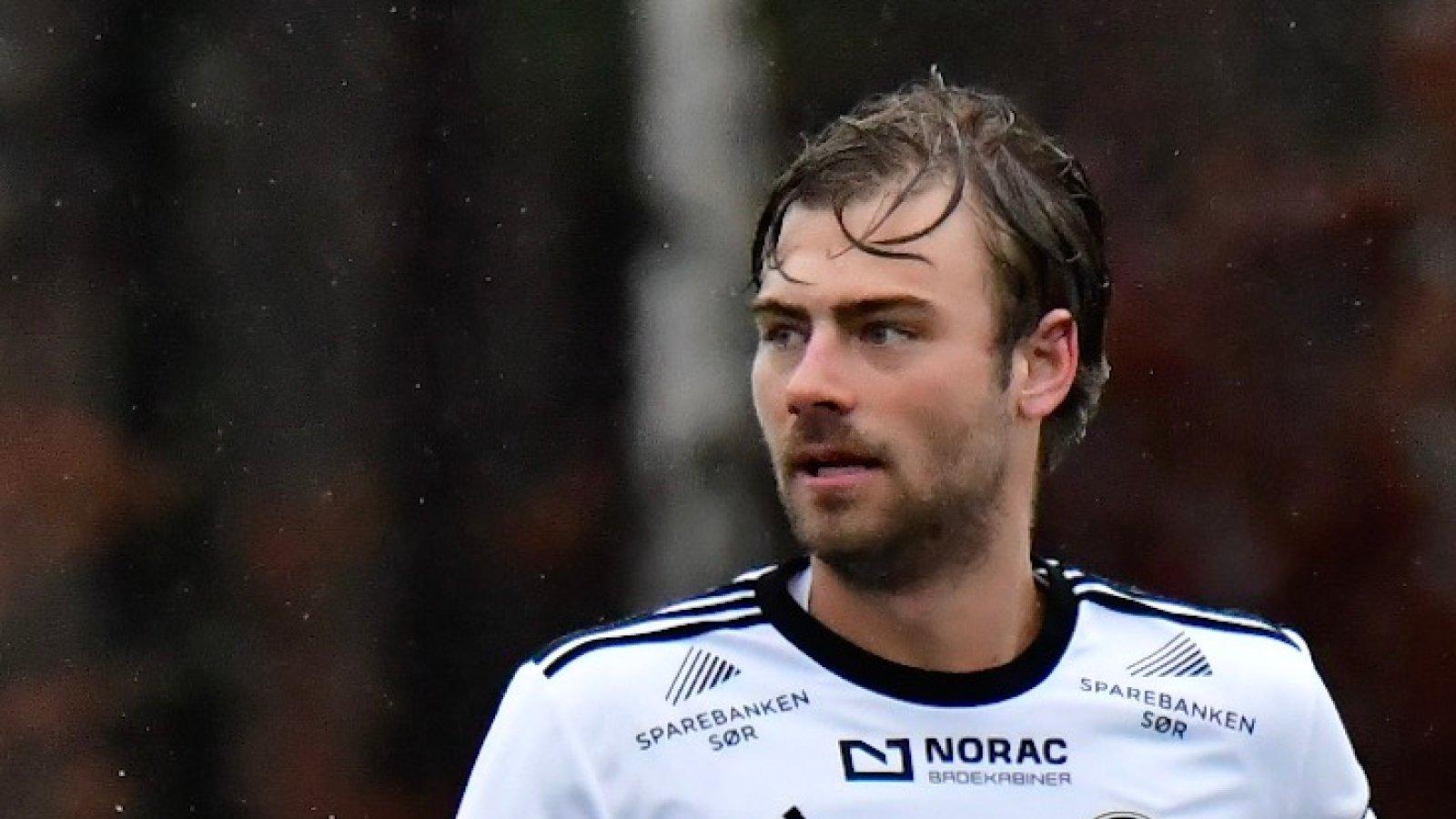 Mads Nørby Madsen var blant Arendals beste i treningskampen mot Jerv.