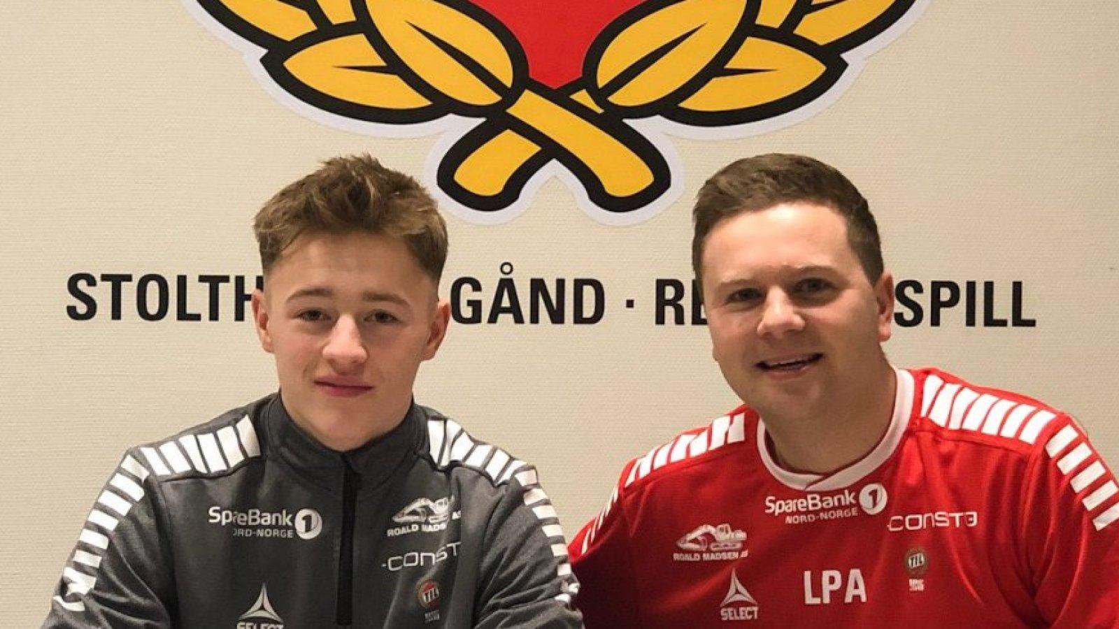Tobias Hafstad og Lars Petter Andressen