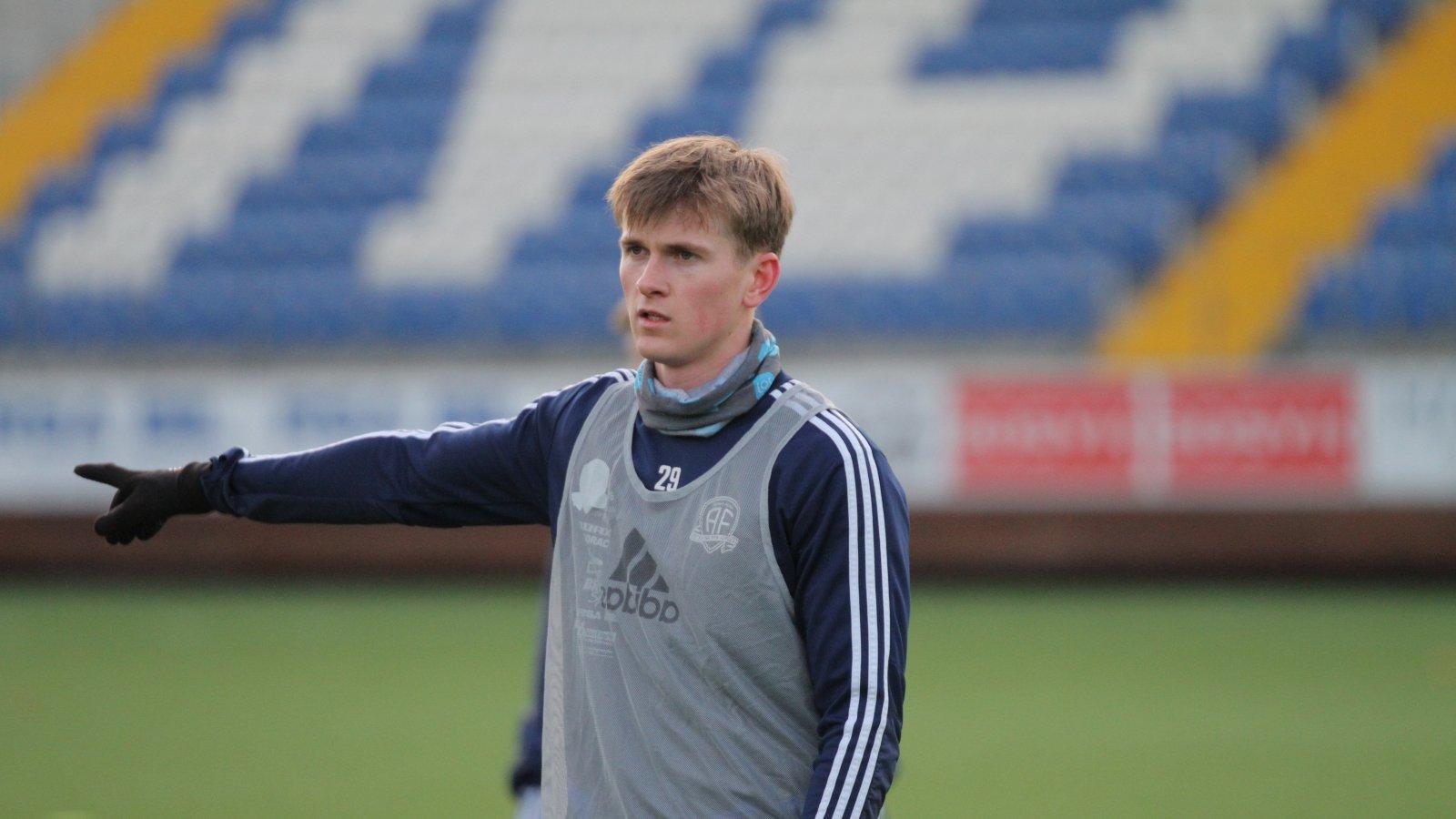Anders Hylen Pedersen er tilbake i trening etter å ha røket akillessenen i 2019.