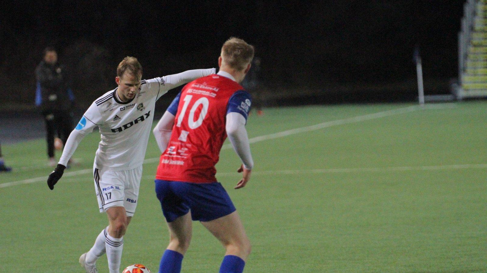 Håvard Meinseth mot Express i treningskamp 29/1 2020.