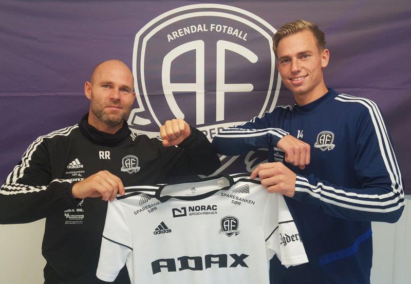 Roger Risholt og Kristian Eriksen