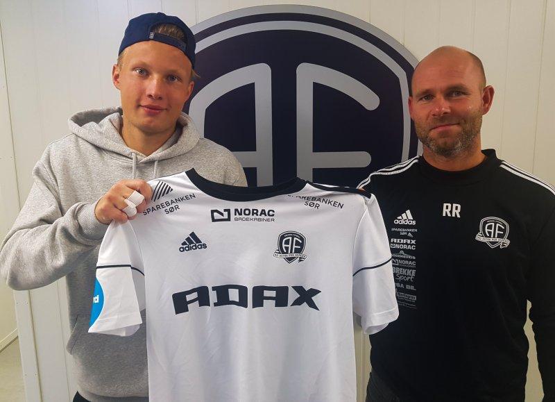 Markus Håbestad og Roger Risholt