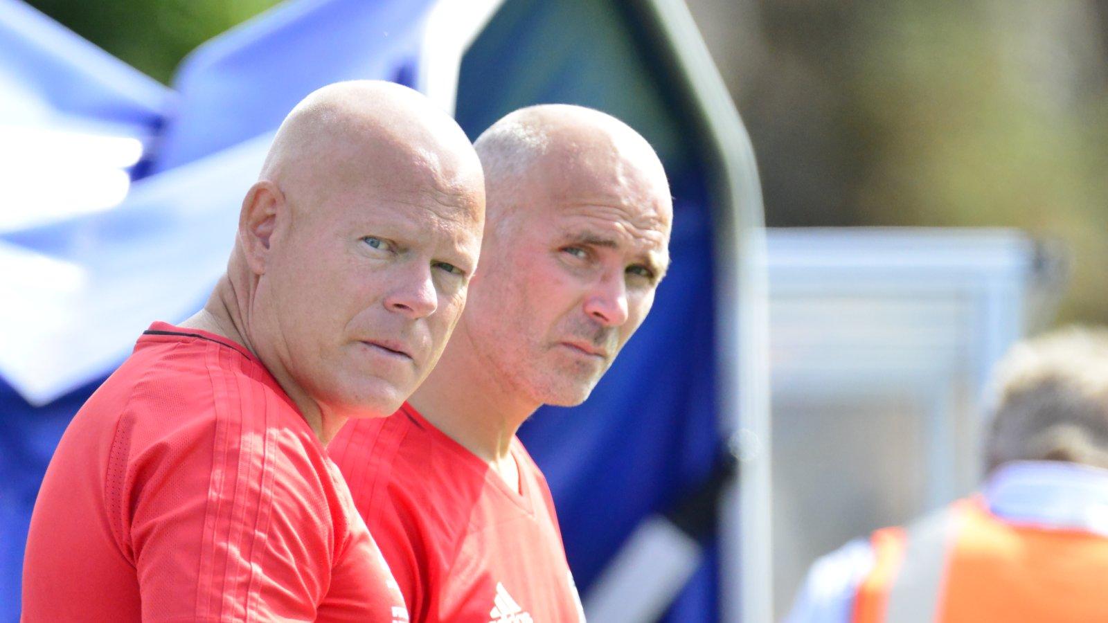 Frank Bredal og Steinar Pedersen.