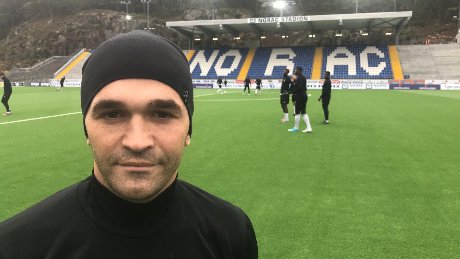 Wilhem Pepa fortsetter karrieren i Arendal Fotball.